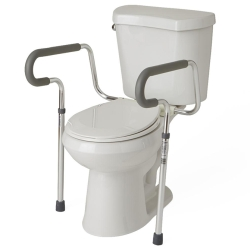 TOILET SAFETY FRAME W/ BRACKET